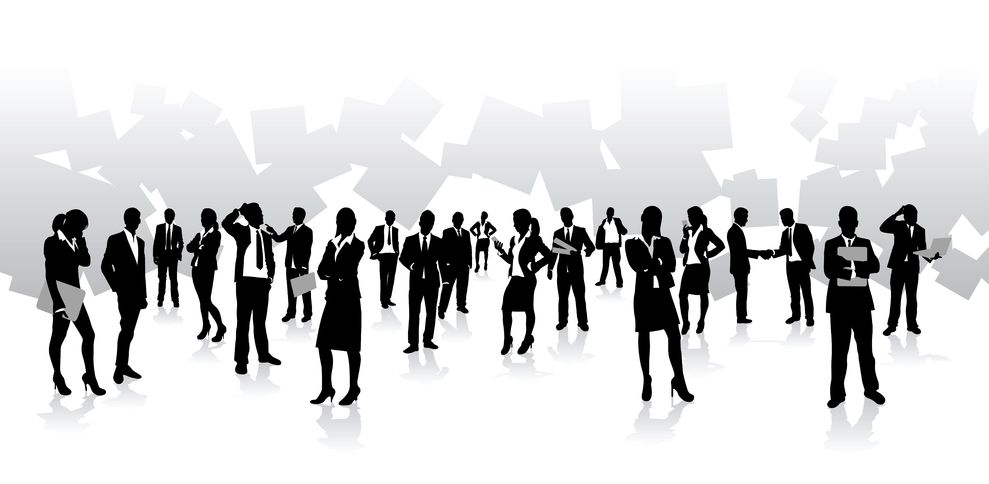 14417233 - business people background